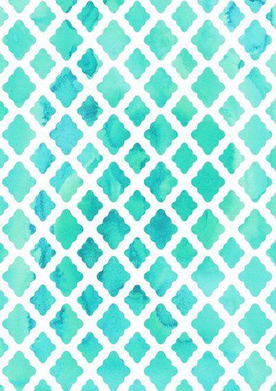 Love This Pretty Blue Trellis Pattern