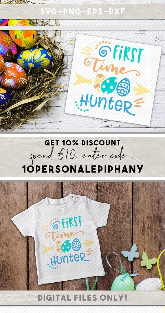 Download Easter First Time Hunter Svg PNG