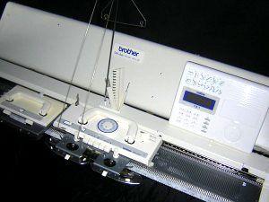 электронная вязальная машина Brother KH970 не выпускается заводом статья о возможностях