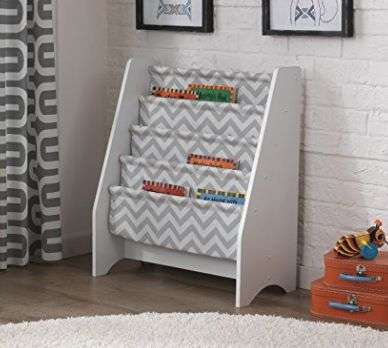 KidKraft Gray Chevron Bookshelf only $35.75 shipped from Amazon!