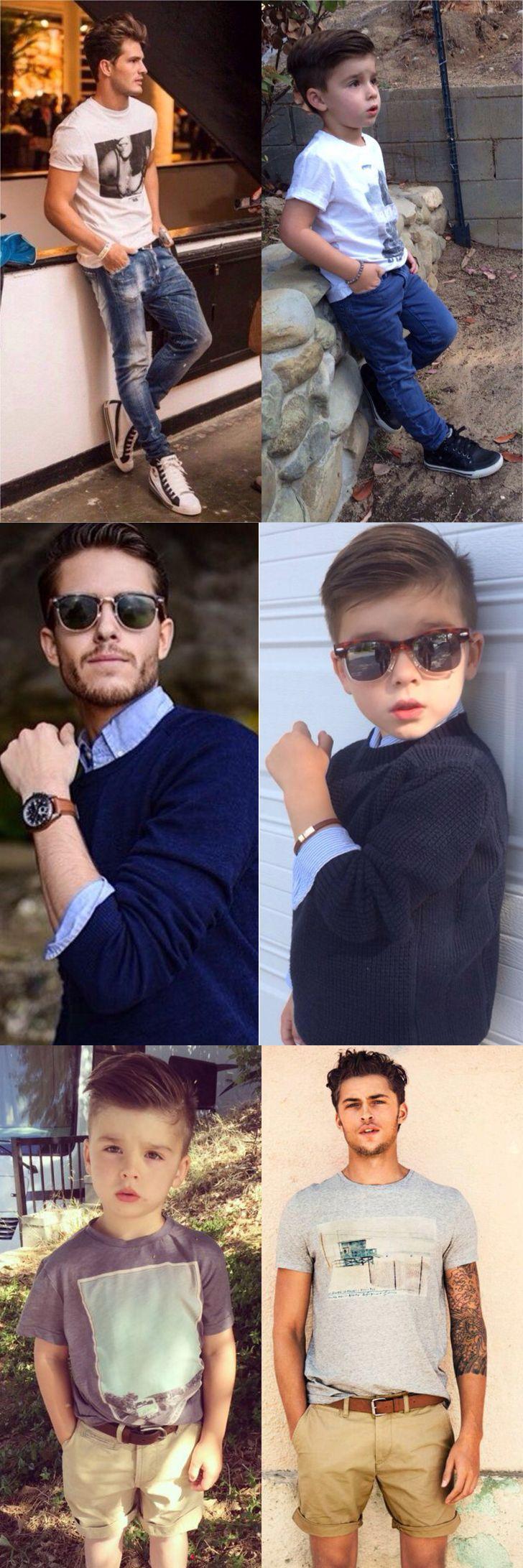 Classy Men Style Kids
