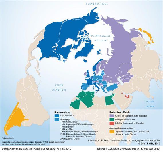 L'Organisation du traité de l'Atlantique Nord (OTAN) en 2010: