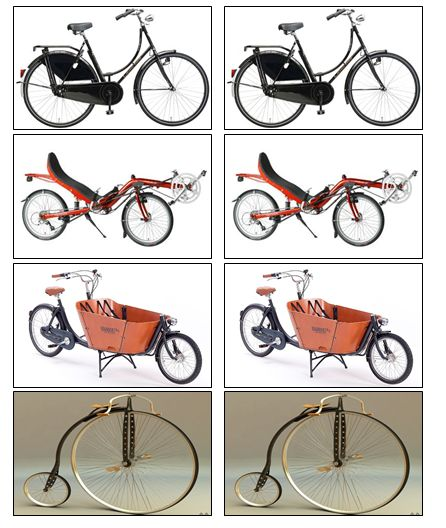 Memory fietsen
