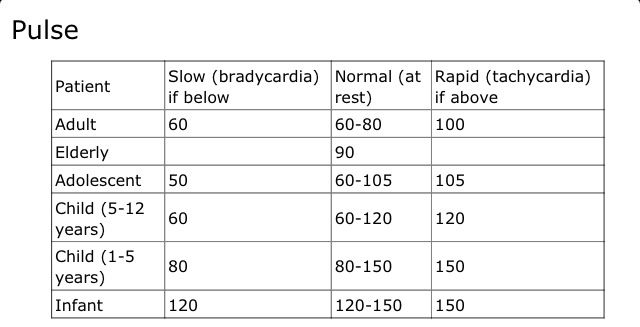 how to find vital signs pulse Craig wood, university of kentucky equine vital signs temperature, pulse, and respiration ( tpr) are the basic physiological parameters.