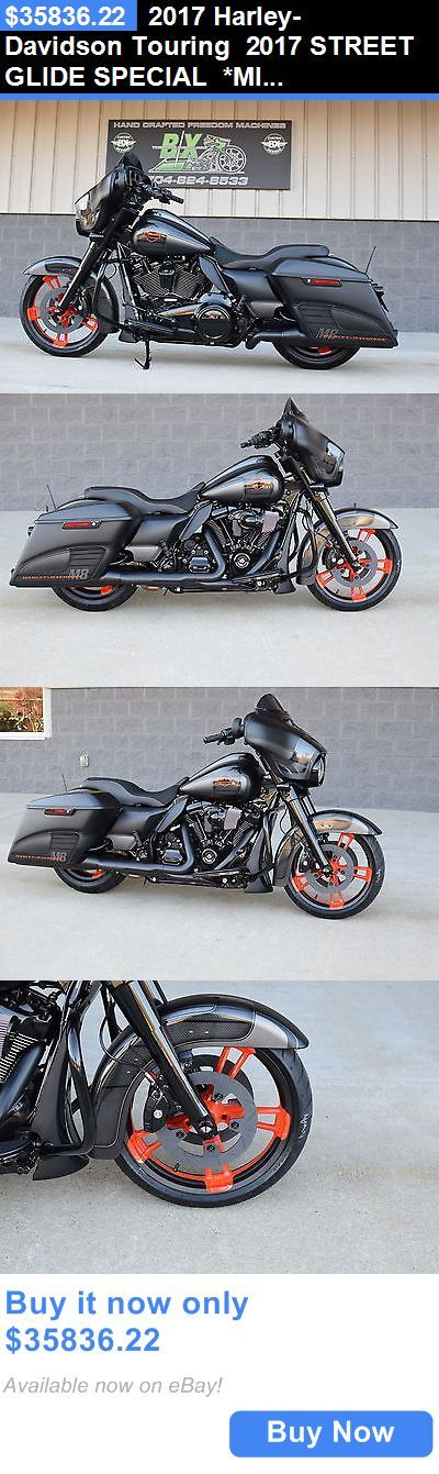 Motorcycles: 2017 Harley-Davidson Touring 2017 Street Glide Special *Mint* $18K In Xtras! M8! Race Edition! 1 Of A Kind! BUY IT NOW ONLY: $35836.22 #harleydavidsonroadglide2017