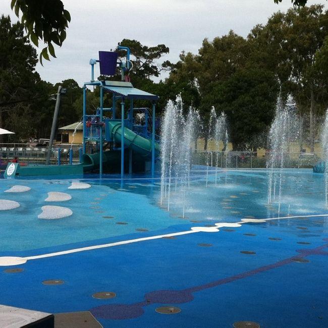 Free water park in Hervey Bay