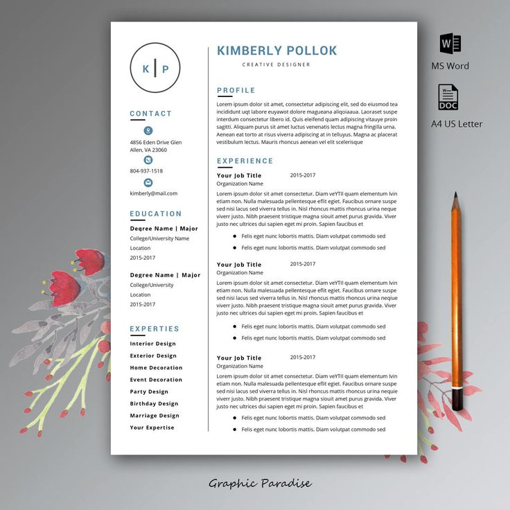 Mer enn 25 bra ideer om Free resume templates word på Pinterest - download resume template word