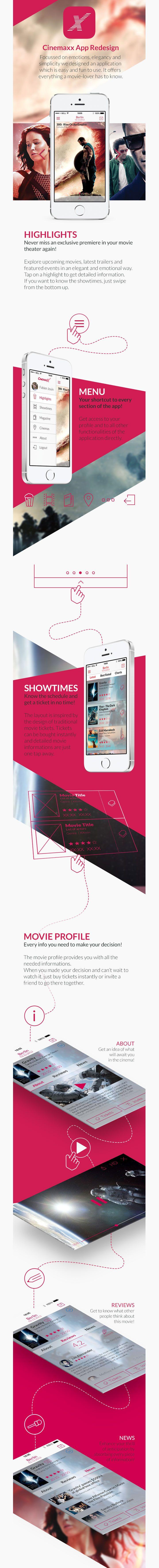 Cinemaxx Movie Theater – App Redesign