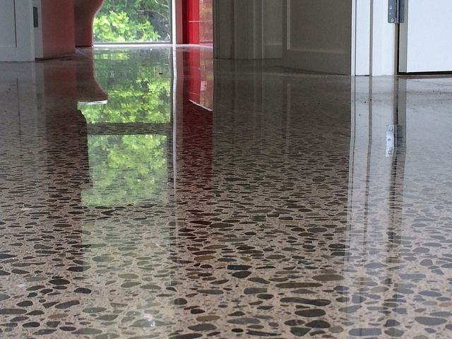 Black Polished Concrete Floor The Fantastic Colors Of Polished Concrete The  Smooth Reflective Surface Area Of