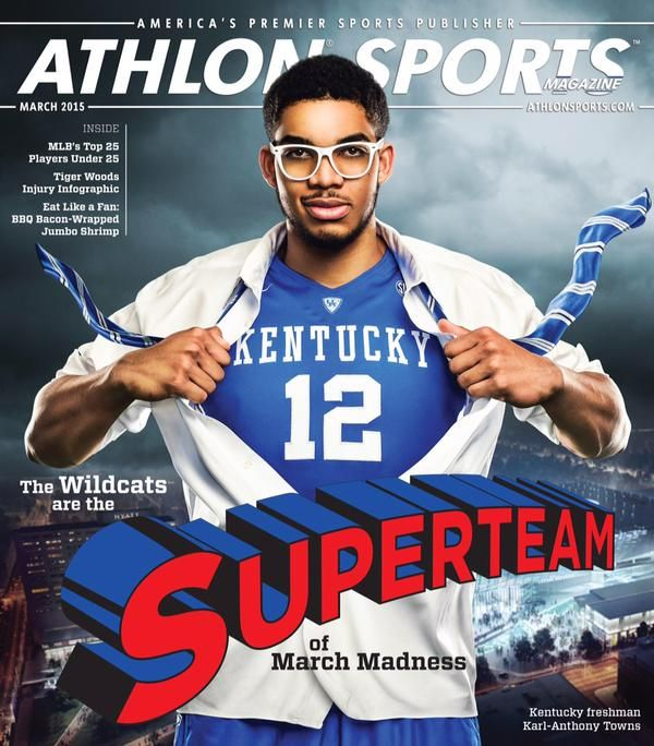 Karl Towns is on the cover of Athlon Sports and it's amazing | Kentucky Sports Radio