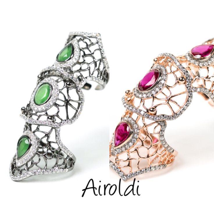 Rings in silver , Airoldi SHOP ON LINE  www.airoldifashion.com