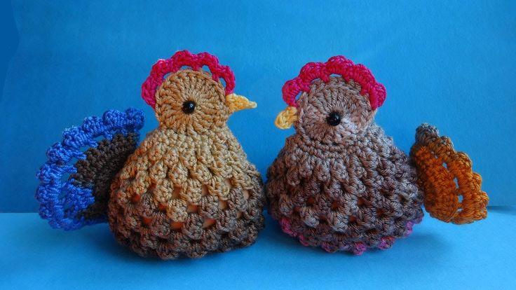 Easter chickens пасхальные вязаные курочки вязание крючком crochet pat...