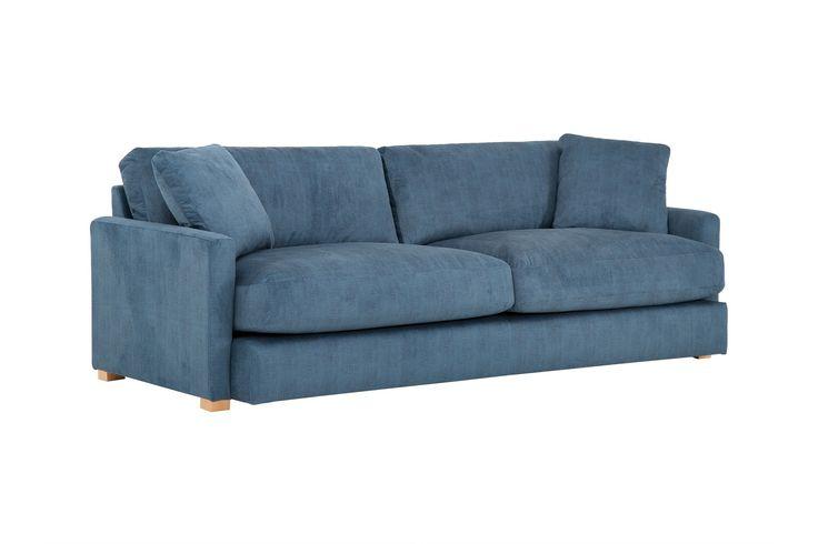 Beppo 3-Sits Soffa  Denimblå