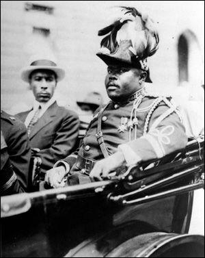 Marcus Garvey  Harlem, New York City in 1922