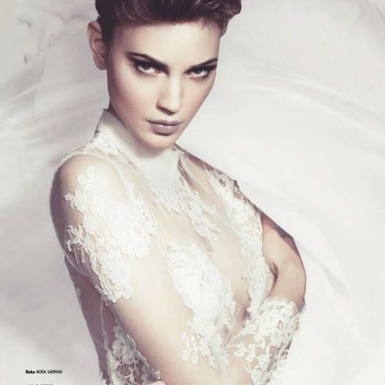 Nora Sarman Bridal collection / photo Pinewood Weddings / dress Ametist