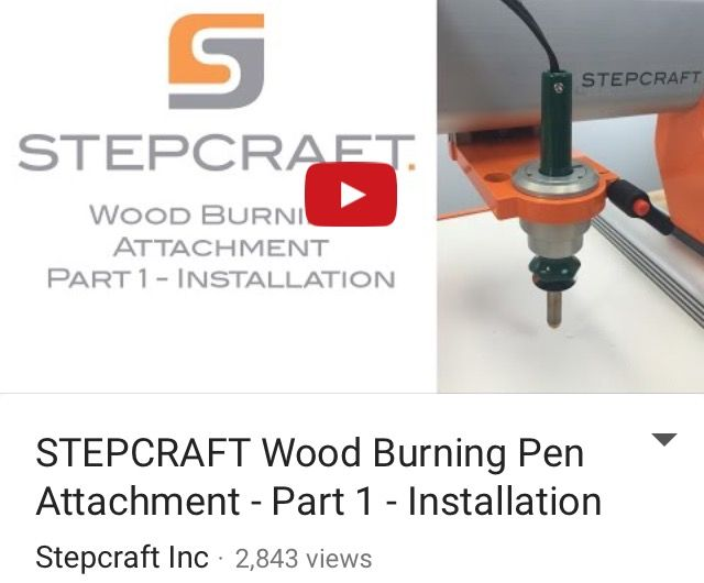 8 best 4th axis rotary on stepcraft images on pinterest rotary stepcraft woodburning video 12 how to setup a tool path fandeluxe Gallery