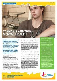 Cannabis and your mental health - fact sheet from Beyond Blue