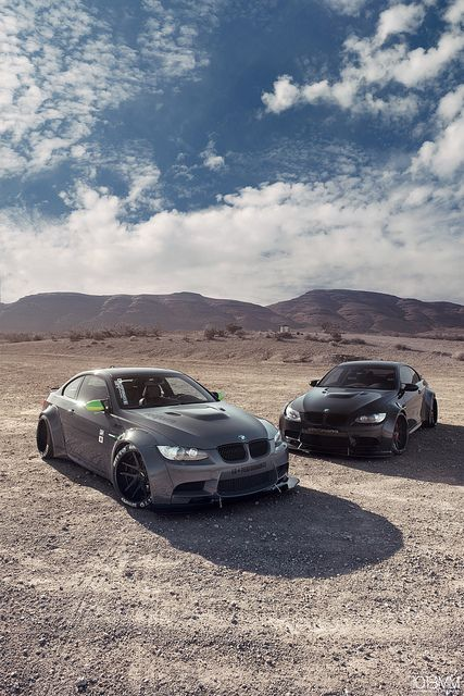 Supercars Photography  — supercars-photography: Dual Liberty Walk BMW M3 -...