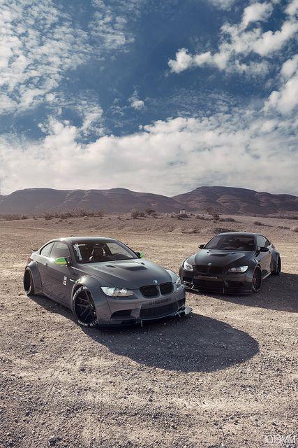 Supercars Photography  — supercars-photography: Dual Liberty Walk BMW M3 -...