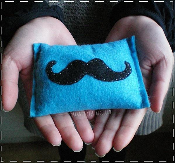 chauffe-mains DIY / mini bouillotte sèche moustache (en français)