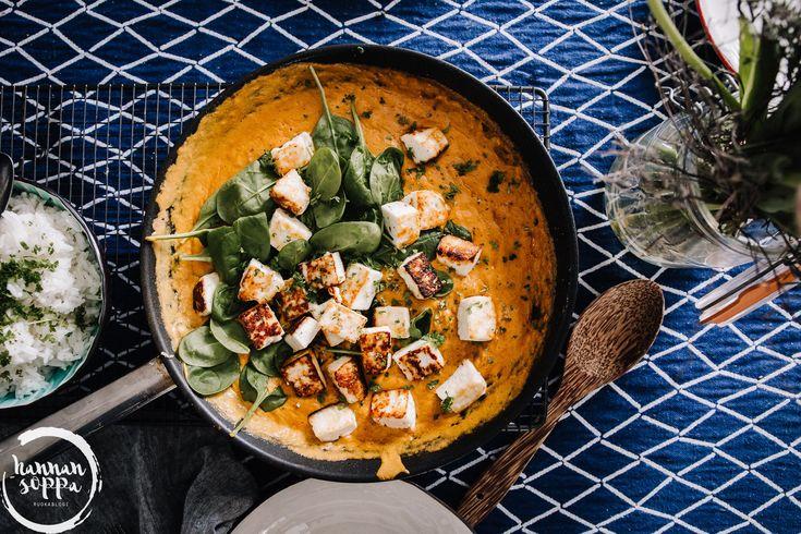 intialainen cashew paneer / Hannan soppa