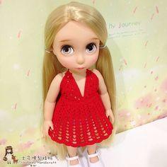 性感蕾丝裙 Crochet sexy lace red dress for Rapunzel #沙龙娃衣 #disneyanimator #disneyanimatorcollection #crochet #crochetaddict #crochetlove #crochetmotif #crochetersofinstagram #arttoy #doll #dollstagram #instadoll #dollphotography #dollclothes #diy #yarn #yarnaddict #yarnlover #handmade #handcraft #haken #häkeln #instacrochet #ganchillo #ganxet #вязание #코바늘인형 #かぎ針編み #амигуруми #钩针