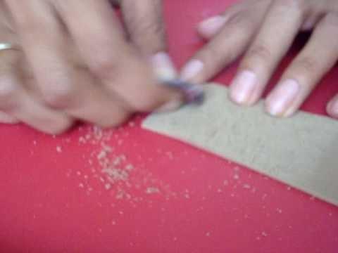 Tecnica para hacer foamy toalla de foamy común
