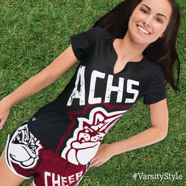 Get the right look for Cheer Camp this summer with Sublimated Practice wear from Varsity Spirit Fashion!  #VarsityFashion http://Varsity.com