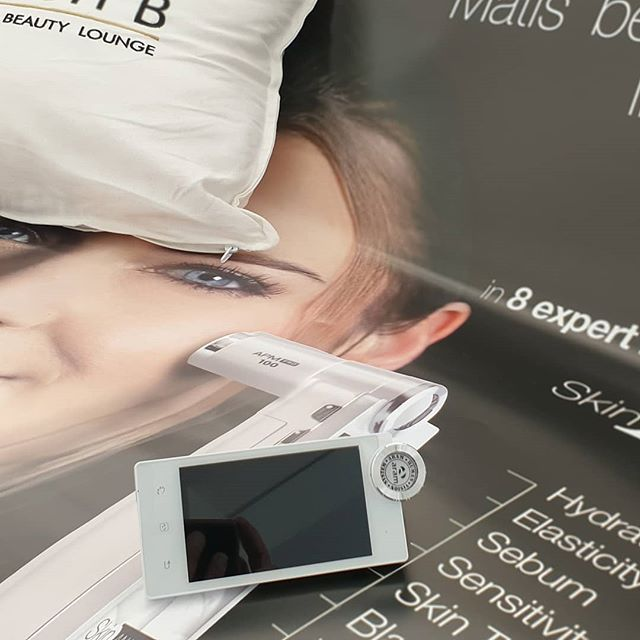 Its arrived! The brand new skin analyser from Matis  This
