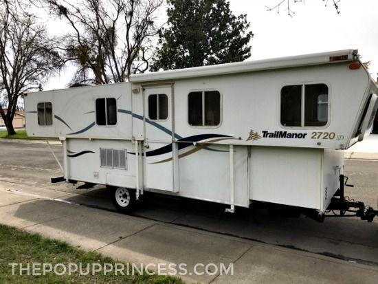 Tara S Trailmanor Makeover Pop Up Princess Shasta Camper Pop Up