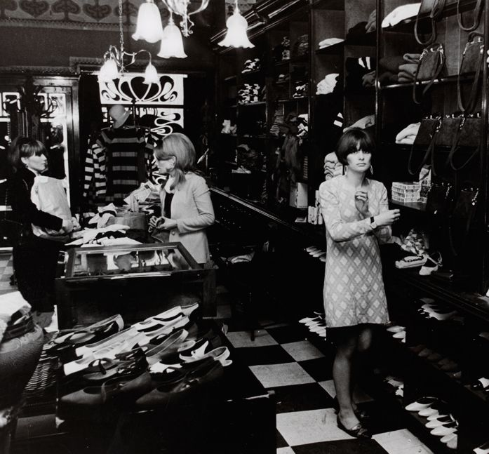 Biba Boutique, London, photo by Philip Townsend, 1964.
