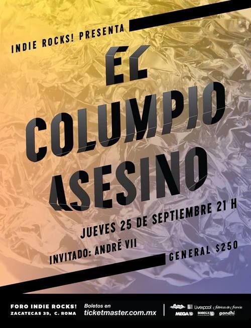 El Columpio Asesino  25 de Septiembre – Foro Indie Rocks!