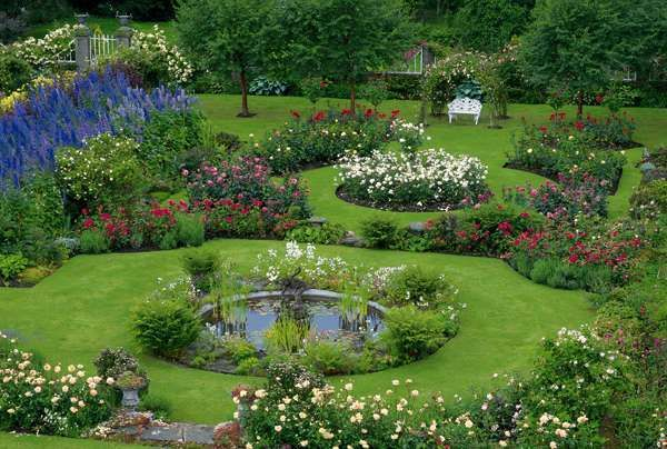 1000 Images About Garden Design On Pinterest Gardens Gravel Path And Delphiniums