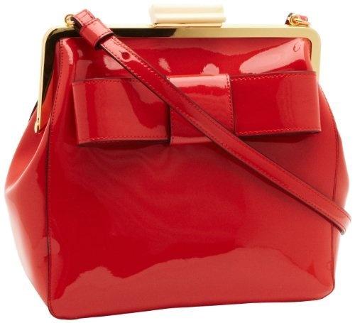 Orla Kiely Women's Patent Leather Holly Handbag Rasberry 13SBPAT019 Orla Kiely, http://www.amazon.co.uk/dp/B009S2DLUM/?tag=pinterest0bc-21