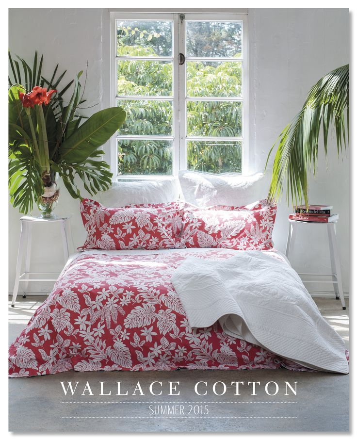 Wallace Cotton Summer 2015 Catalogue Cover www.wallacecotton.com