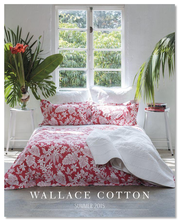 Wallace Cotton Summer 2015 Catalogue Cover www.wallacecotton.com
