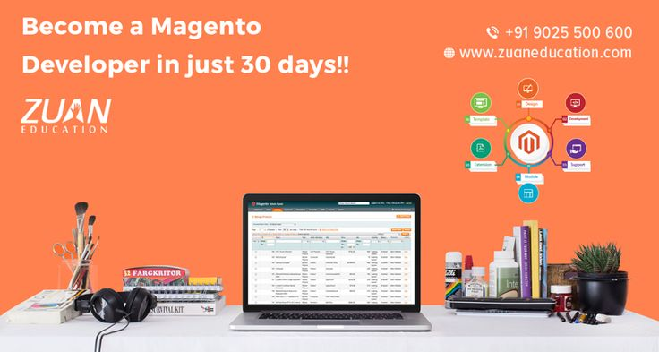 Become a #Magento developer in just 30 days!! Learn Magento from industry experts and get immediate jobs in IT industry!!  Course highlights: -> Instructor-led training -> Customized course syllabus -> Individual attention to every students -> 100% assured placements To enroll, call: 9025500600 Visit us @ http://www.zuaneducation.com/magento-training-courses