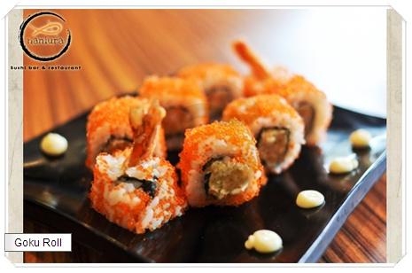 Goku Roll at Naniura Sushi - http://disdus.com/promo.php?i=2933