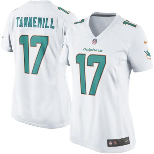 nike mike wallace miami dolphins womens new game jersey white