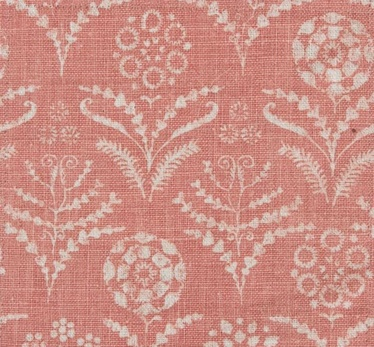 Paradeiza in Guava from Lisa Fine Textiles #fabric #linen #pink