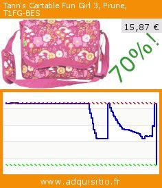 Tann's Cartable Fun Girl 3, Prune, T1FG-BES (Luggage). Réduction de 70%! Prix actuel 15,87 €, l'ancien prix était de 52,90 €. https://www.adquisitio.fr/tanns/cartable-fun-girl-3-prune-1