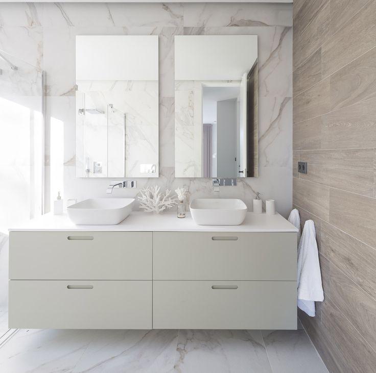 Las 25 mejores ideas sobre baldosa en imitaci n de madera for Azulejos imitacion marmol