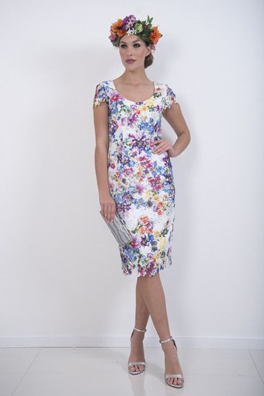 Jardin Dress – A beautiful poly lace dress with small cap sleeves. Looks great with the Jardin jacket