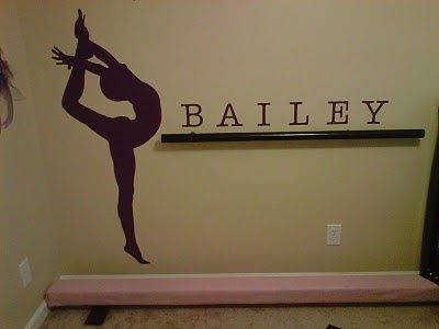 dance room decorations   Dance room ideas.....want this but in gymnastics or basement
