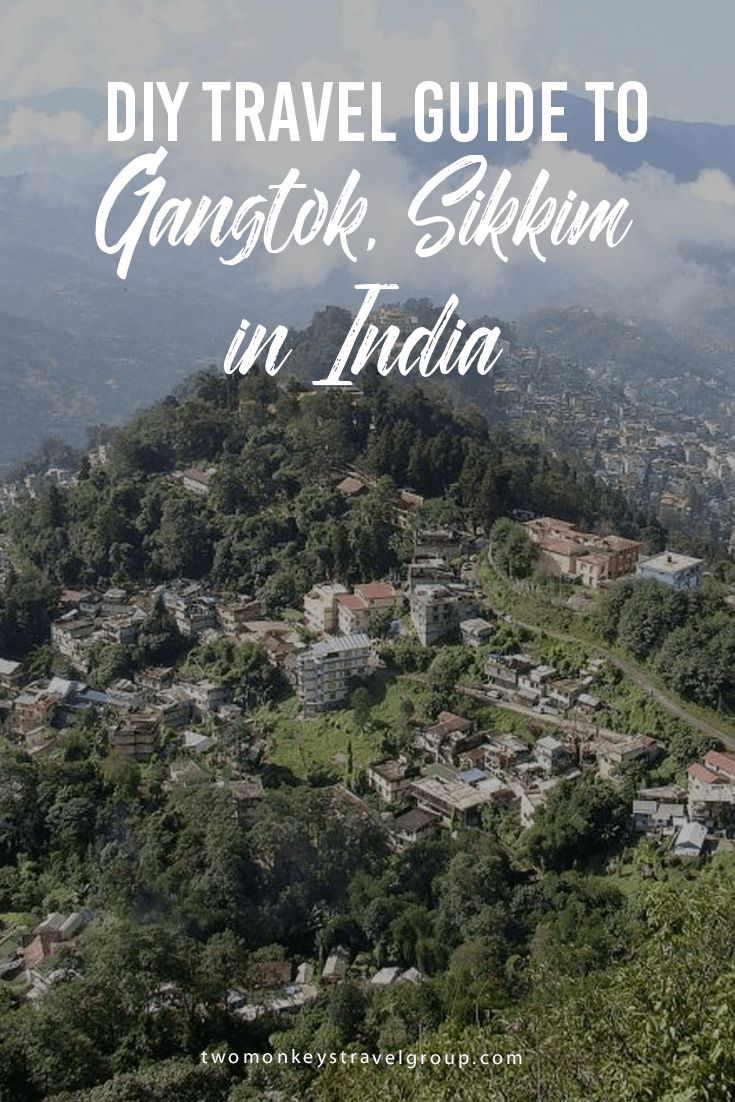DIY Travel Guide to Gangtok, Sikkim in India Gangtok, which is the capital city of Sikkim and is situated in the eastern Himalayan range at an elevation of about 5,410 Feet. Kanchenjunga, which at an altitude of 28,169 Ft. is the third largest peak in the world is visible from Gangtok. Gangtok is home to numerous Buddhist temples and monasteries.
