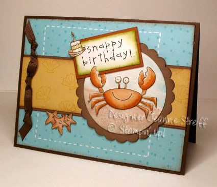 SC115 Birthday by Jeanne S - Cards and Paper Crafts at Splitcoaststampers
