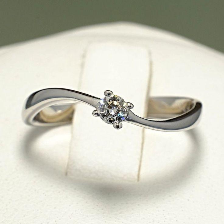 Inel de logodna din Aur cu diamant 001
