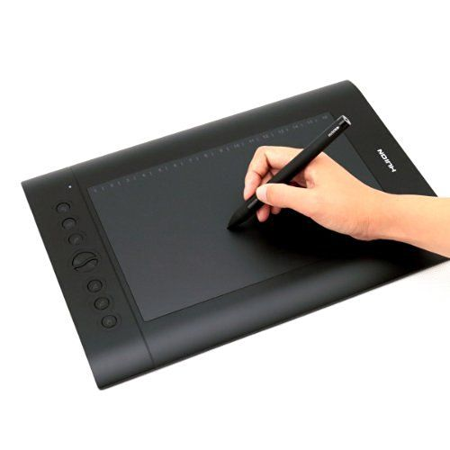 Wacom Intuos Pro Pen and Touch Tablet, Medium (PTH651)