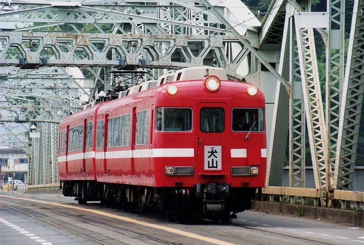 7700系名鉄犬山橋梁