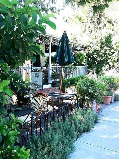 The Cottage HILTON HEAD, SOUTH CAROLINA- Sidewalk View of the Restaurant